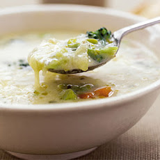 Gruyère & Vegetable Soup