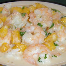 Thai Shrimp in Curried Coconut Sauce
