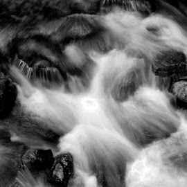 FLOW by Debarshi Banerjee - Abstract Patterns ( abstract, nature, waterfall )