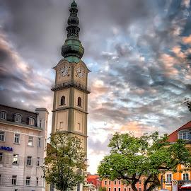 Klagenfurt by Cristian Peša - City,  Street & Park  Street Scenes