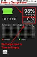 Screenshot of Battery: Time to Empty/Full