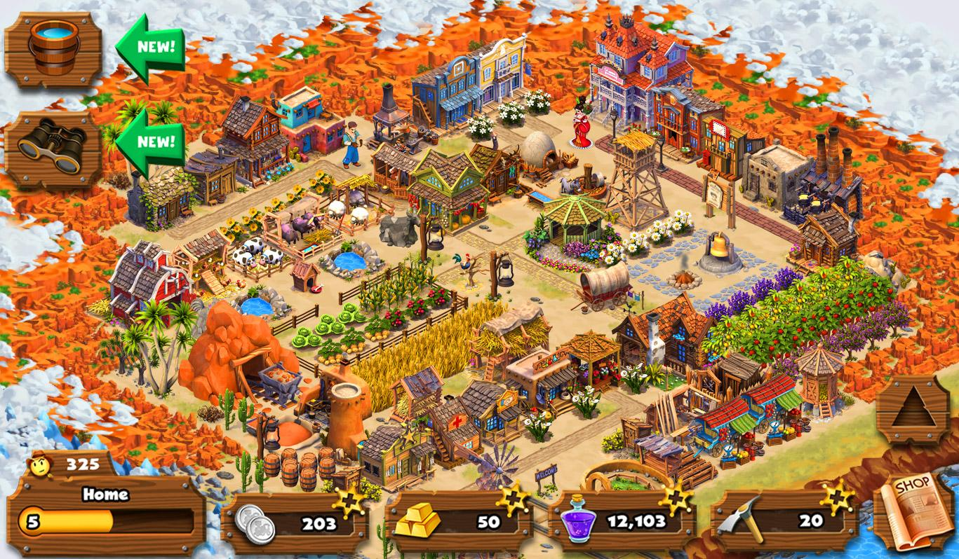 Westbound Adventure City Town Screenshot 10