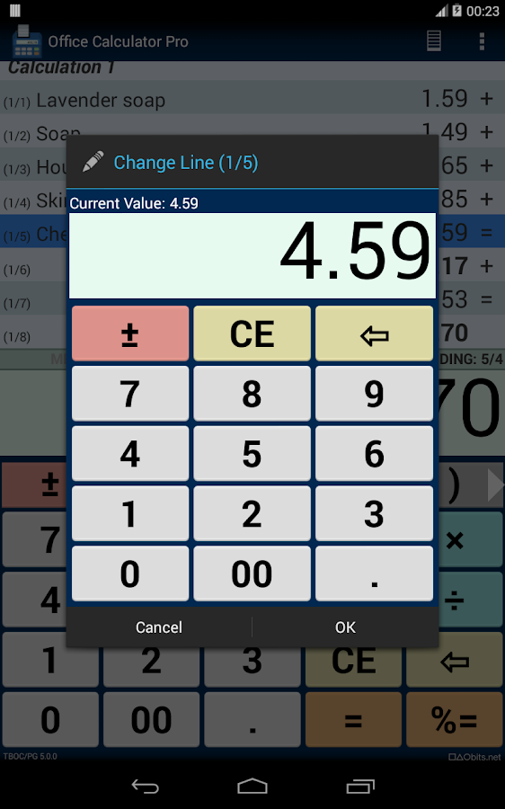 Office Calculator Pro Screenshot 14