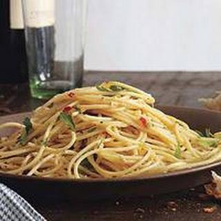 Pasta Aglio Olio With Anchovies Recipes