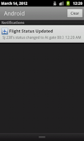 Screenshot of Hong Kong Flight Info Pro