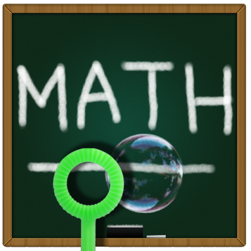 解謎必備App|Bubble Pop Math Kids Game LOGO-綠色工廠好玩App