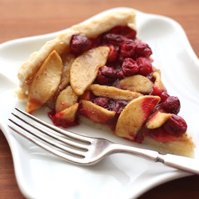Cranberry Apple Tart