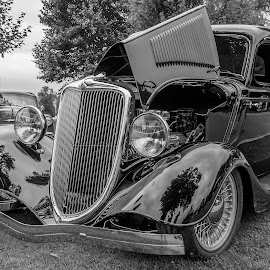 Old Ford by Jack Brittain - Transportation Automobiles ( car, lakeshore park, canada, ontario, car show, ford, oshawa )