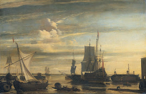 RIJKS: attributed to Jan Claesz. Rietschoof: painting 1699