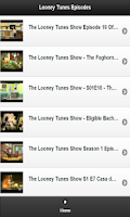 Screenshot of Best of Looney Tunes Episodes