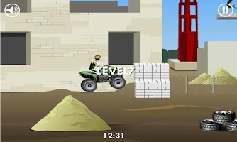 Screenshot of Stunt Dirt Bike