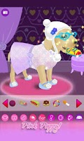 Screenshot of Dressup Pink Puppy