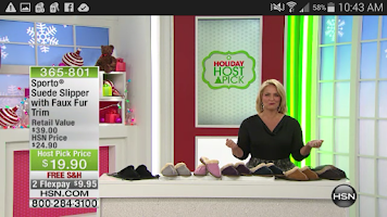 Screenshot of HSN Phone Shop App