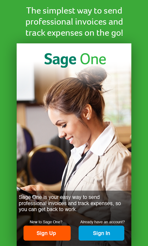 Sage One Screenshot