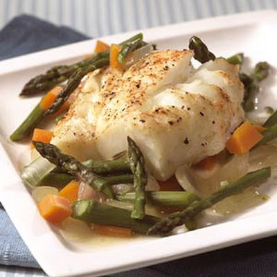 Whitefish with Roasted Asparagus