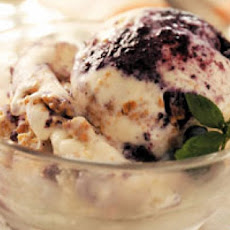 Blueberry Cheesecake Ice Cream