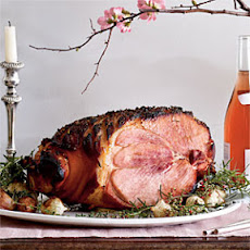 Baked Ham with Rosemary and Sweet Vermouth