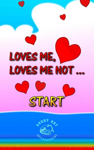 Loves me ... loves me not