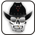 Cowboy Skull doo-dad icon