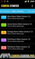 Screenshot of Camera Starter