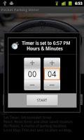 Screenshot of Pocket Parking Meter free