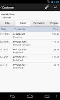 Screenshot of MobileBiz Pro - Invoice