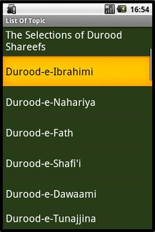 EXCELLENCE OF DUROOD SHAREEF