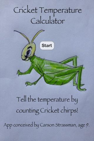 コオロギ温度計