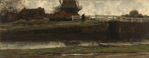 RIJKS: Jacob Maris: The Truncated Windmill 1872