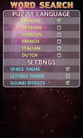 Screenshot of Word Search Free