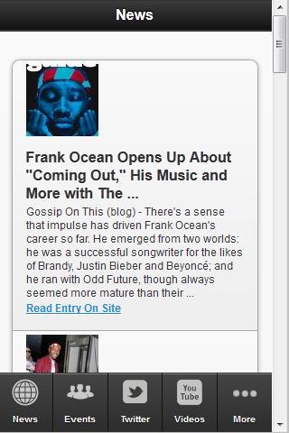 【免費社交App】Frank Ocean Fan App-APP點子