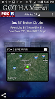 Screenshot of FOX 5 Storm Team