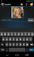Screenshot of Celebrity Quiz