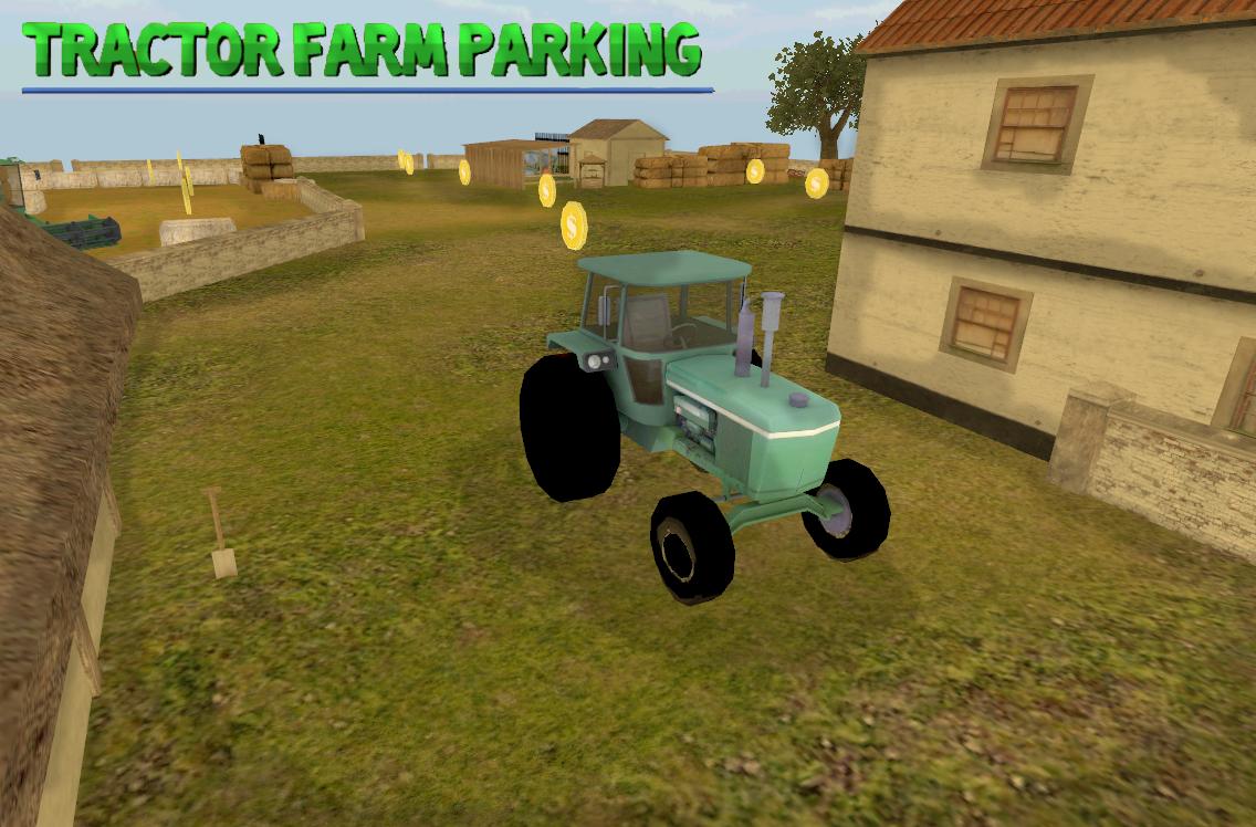 Traktor Bauernhof Parkplatz – Screenshot