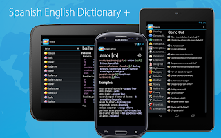 Screenshot of Spanish English Dictionary