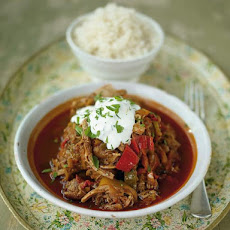 Spicy Pork & Chilli-pepper Goulash