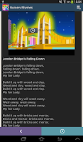Screenshot of Nursery Rhymes Video & Lyrics