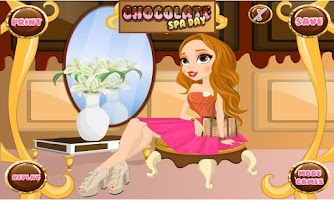 Screenshot of Chocolate Spa Day