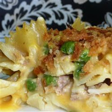 Six Ingredient Tuna Pasta Bake