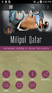 Milipol Qatar 2014 - screenshot