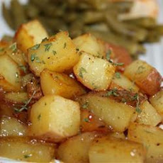Garlic Roast Potatoes