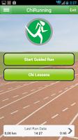 Screenshot of Chi Running Training App
