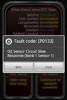 Screenshot of Torque Lite (OBD2 & Car)