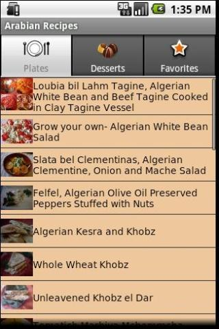 Arabian Recipes