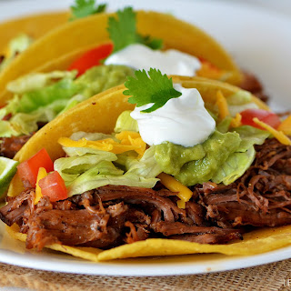 Crock Pot Shredded Beef Taco Meat Recipes