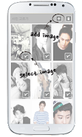 Screenshot of EXO CHANYEOL Lockscreen