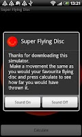 Screenshot of Super Flying Disc