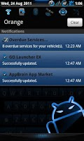 Screenshot of Steel Blue Theme for CM7
