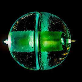 Globe by Cory Bohnenkamp - Artistic Objects Glass ( abstract, green, art, glass, light, globe,  )