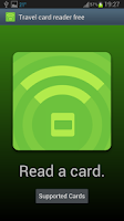 Screenshot of Travel card reader free